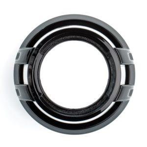 Бленда Z100 Black 3.0 дюйма черная круглая без АГ