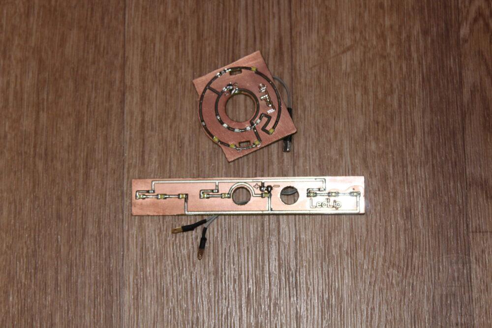 Модуль подсветки переключателей отопителя 2113,2114,2115