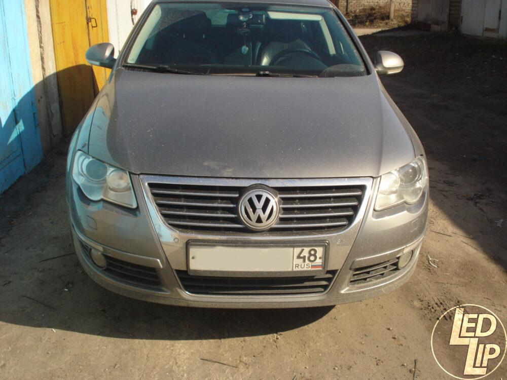 Замена штатных ксеноновых линз в фарах Volkswagen Passat B6