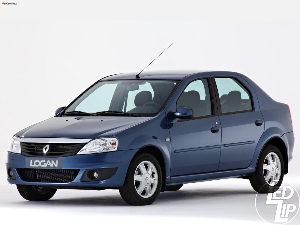 Установка 3х дюймовых би ксеноновых линз на Renault Logan