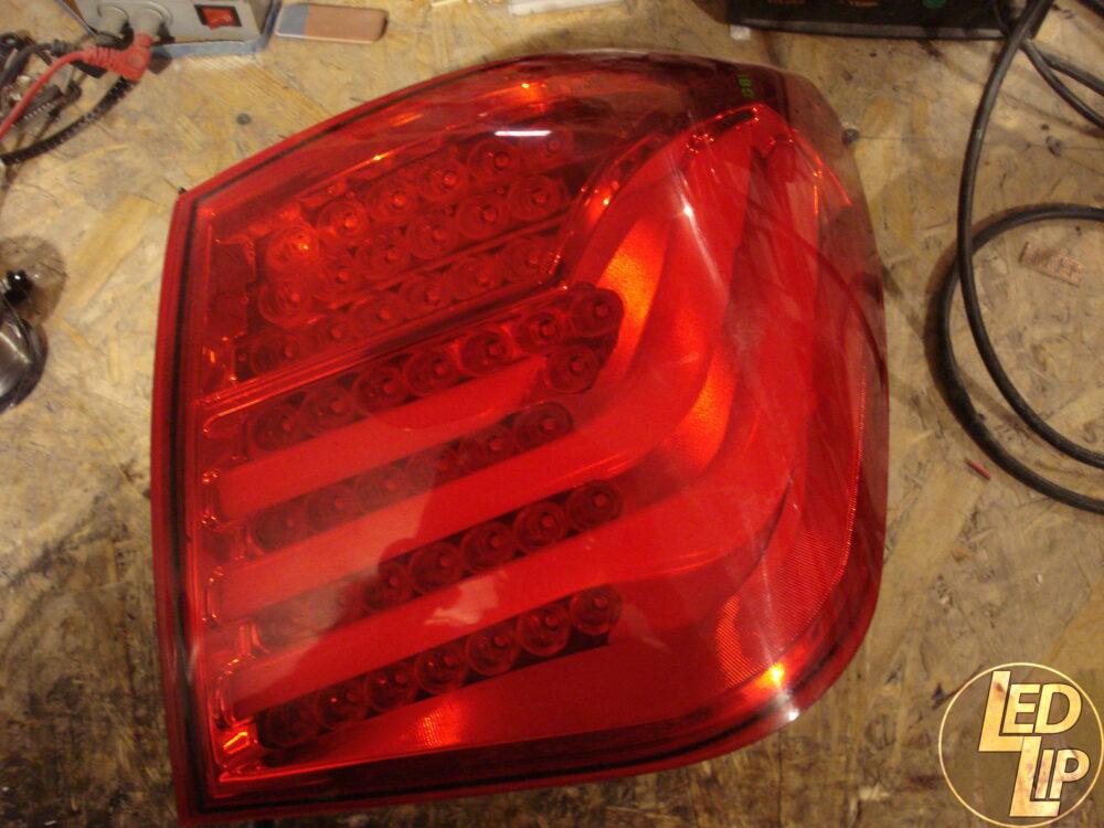 Ремонт светодиодной оптики Chevrolet Cruze BMW Style