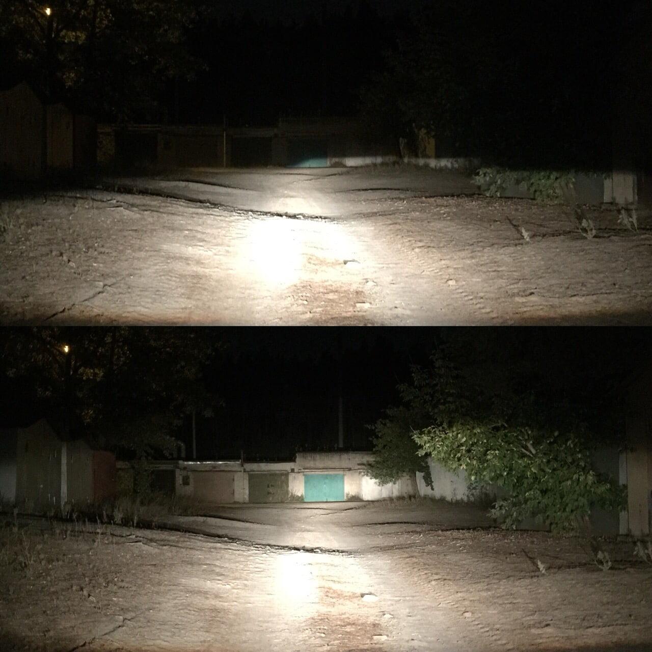 Как светят Линзы Daewoo Nexia N150 после замены