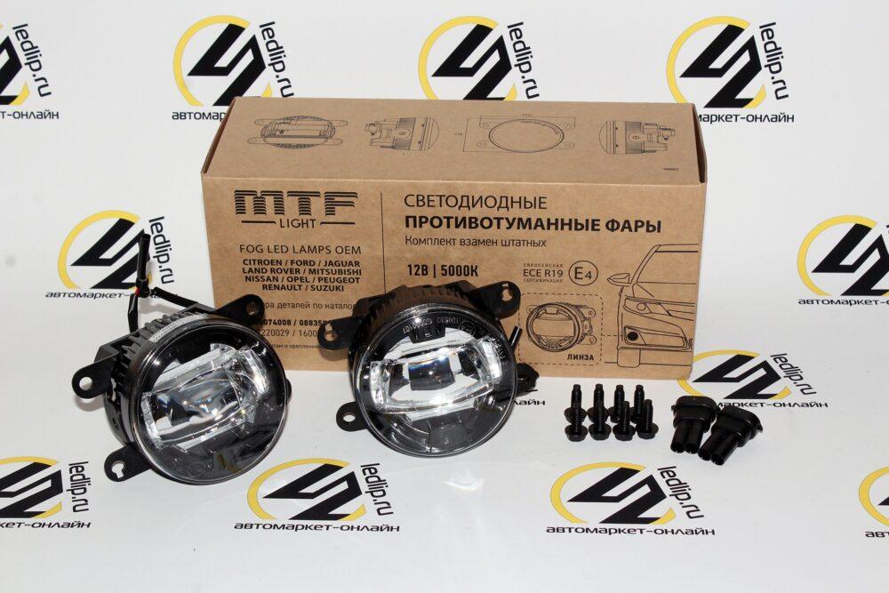 Светодиодная ПТФ MTF-Light (FL10W) Citroen,Ford,Peugeot,Renault,Subaru,Mitsubishi,Nissan,Lada Vesta