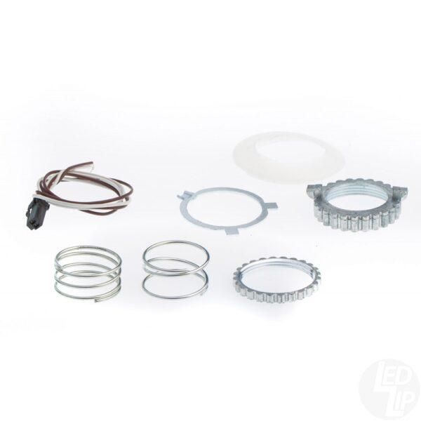 Ремонтный крепежный набор с фиксирующим кольцом для линз Koito Q5 3.0 под цоколь D2S/D4S