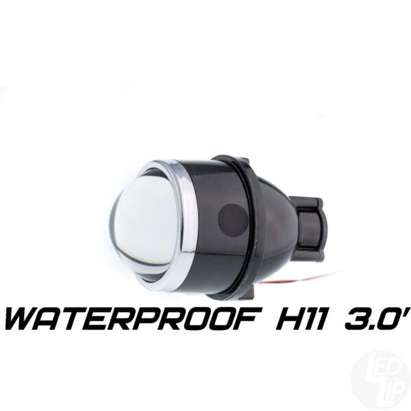 Герметичный би-модуль Optimа Waterproof Lens 3.0 H11, модуль для ПТФ