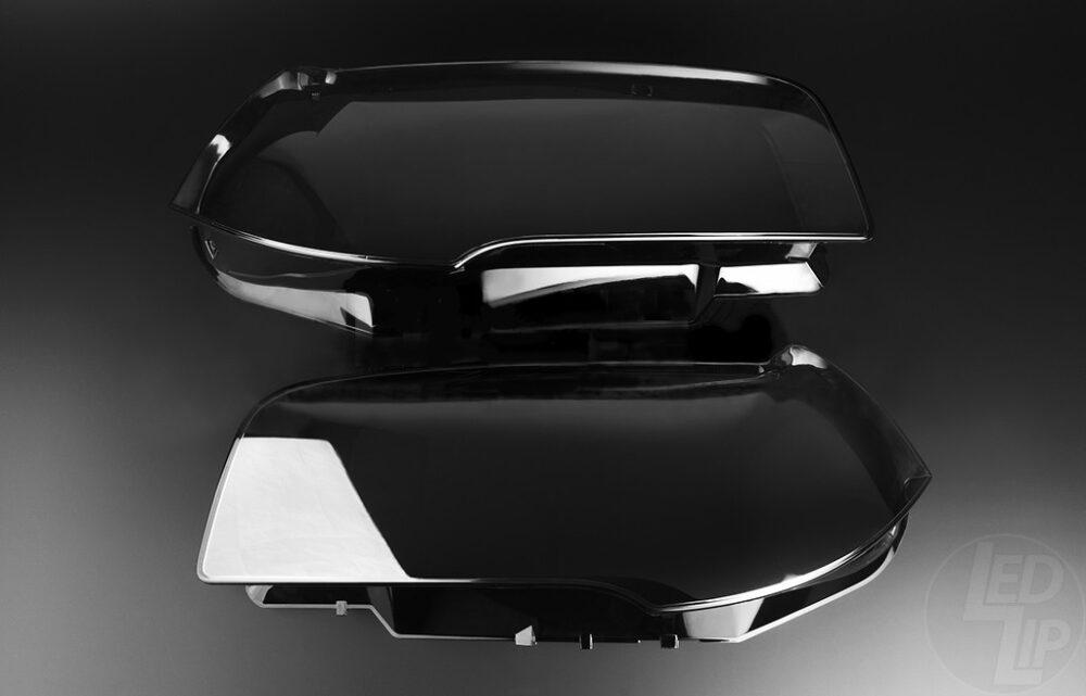 Стекло для фары BMW X3 E83 (2003 - 2010) левое