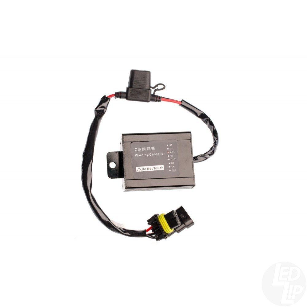 """Модуль обхода борткомпьютера (""""обманка"""") для блоков розжига 2-CanBus C2.5, 9-16V Совместимость: Mercedes-Benz BMW Volkswagen Цена указана за одну штуку."""