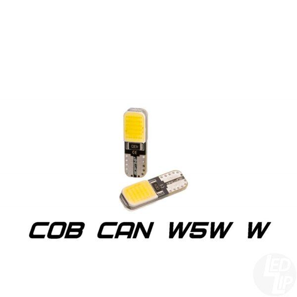 Светодиодные лампы W5W (T10) Optima Premium COB CAN 12V 4200К