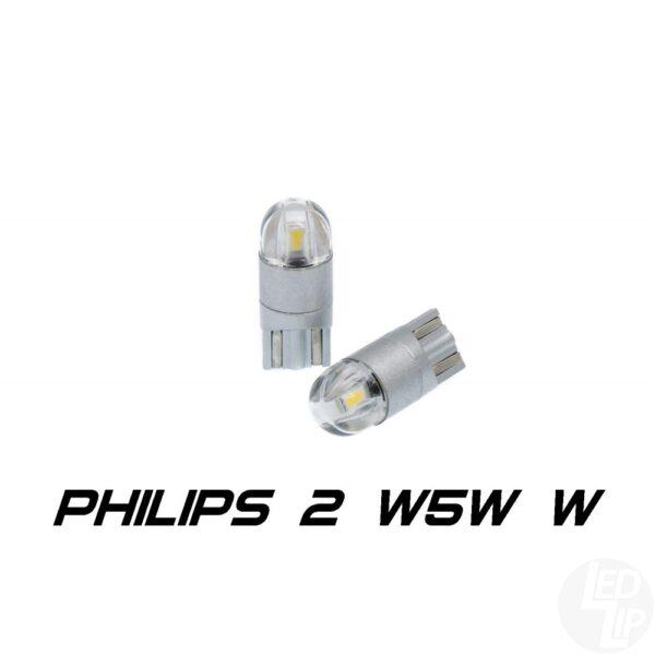 Светодиодные лампы W5W (T10) Optima Premium W5W PHILIPS Chip 2 4200K 5W 12V