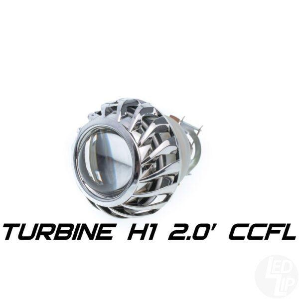 Биксеноновая линза Optimа Moto Turbine CCFL 2.0 H1 (бленда круглая 806 с АГ CCFL)