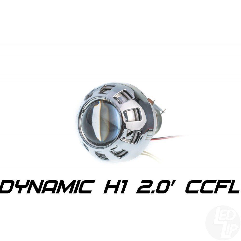 Биксеноновая линза Optimа Moto Dynamic CCFL 2.0 H1 (бленда круглая 807 с АГ CCFL)