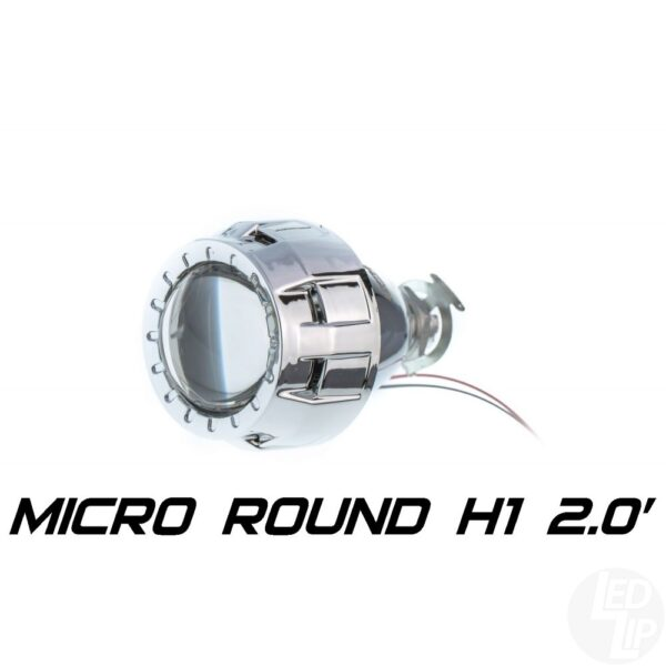 Биксеноновая линза Optimа Micro Round 2.0 H1 (бленда круглая)
