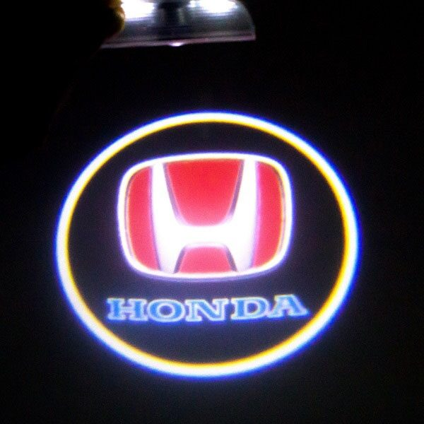 Светодиодная подсветка дверей с логотипом HONDA