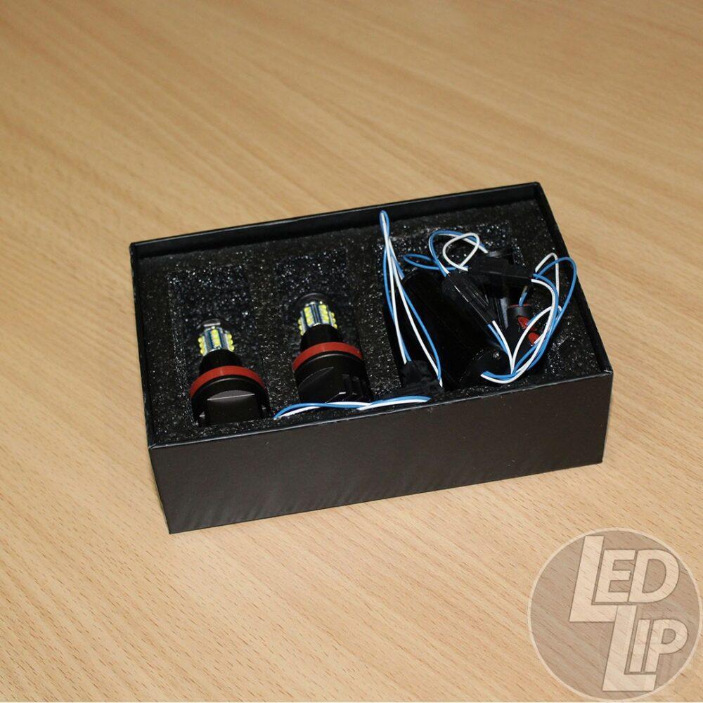 Светодиодные маркеры Optima Premium H8 CREE XT-E 90W CAN BUS для ангельских глазок BMW E70