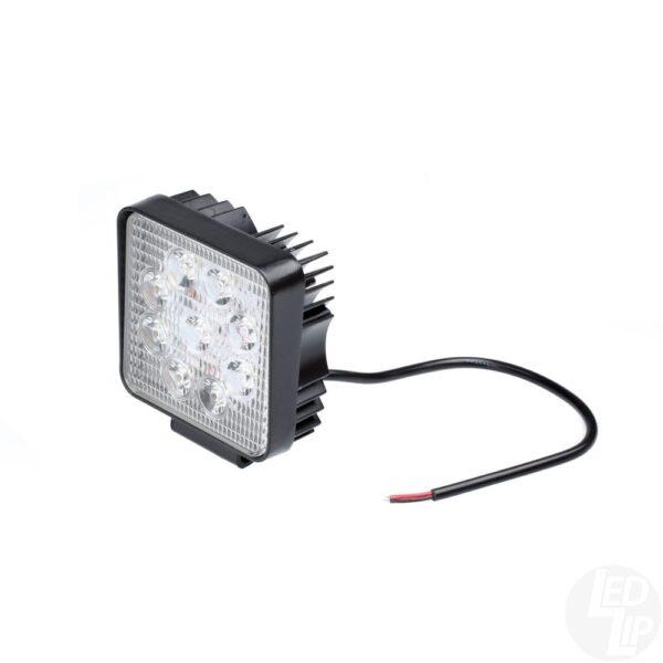 Светодиодная фара-прожектор 27W, 9 LED