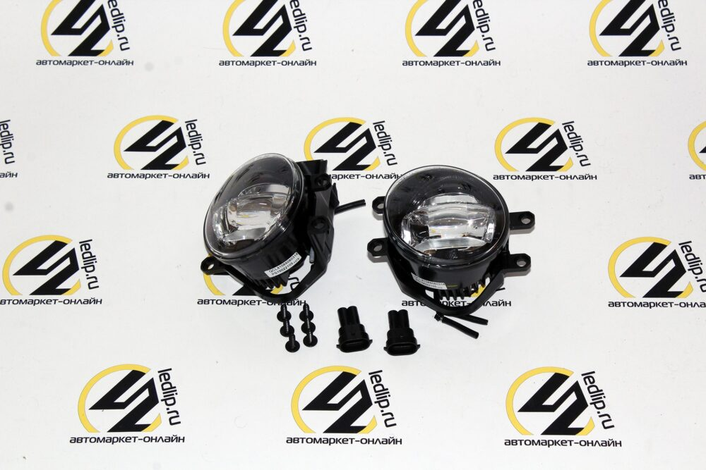 Светодиодная противотуманная фара MTF-Light ( FL10TT) TOYOTA Camry, Corolla, RAV4. LEXUS GS, CT200H, IS LX, RX