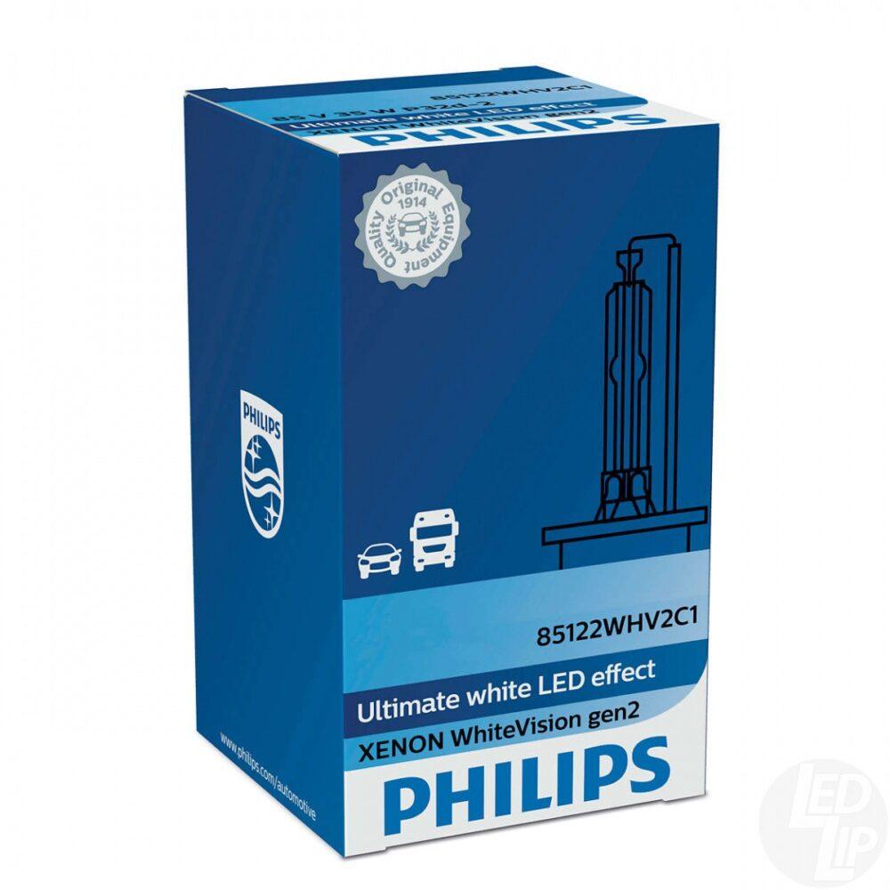 Ксеноновая лампа Philips WhiteVision gen 2- D3S 42403WHV2C1