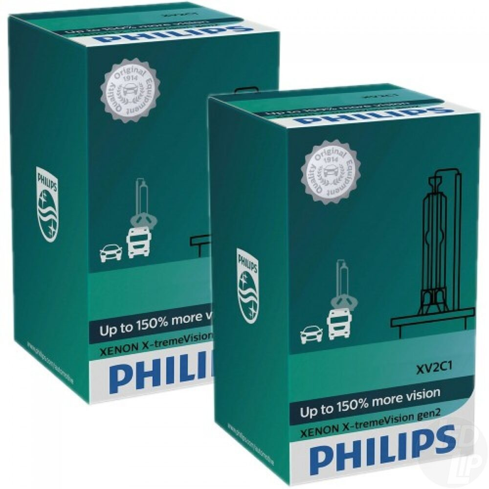 Ксеноновая лампа Philips X-tremeVision gen 2 - D3S 42403XV2C1