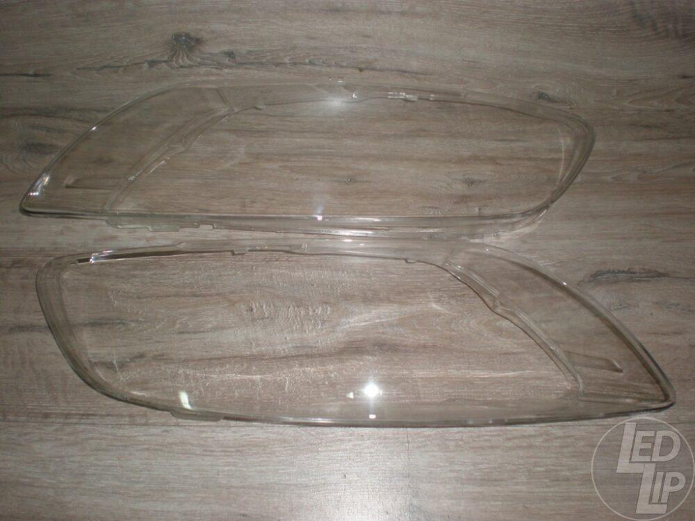 Стекло фары Audi Q7 Рестайлинг (2009-2015 г.в.)Левое-Правое