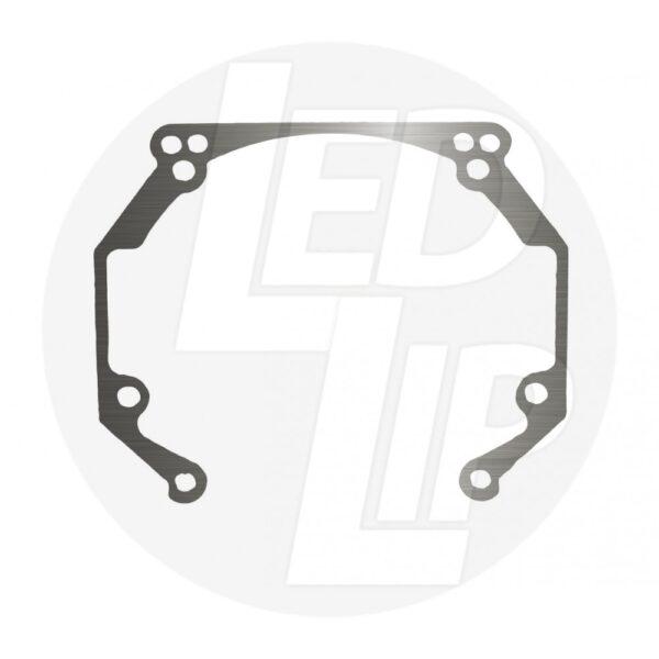 Переходные рамки на Volkswagen Touareg I (GP) дорестайл (02-05 г.в.) под Hella 3R