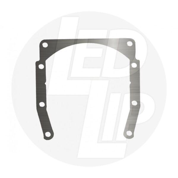 Переходные рамки на Porsche Cayenne I дорестайл (03-06 г.в.) под линзы Bi-LED