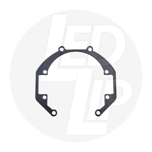 Переходные рамки на Nissan Juke I (YF15) рестайл (14-16 г.в.) под линзы Bi-LED