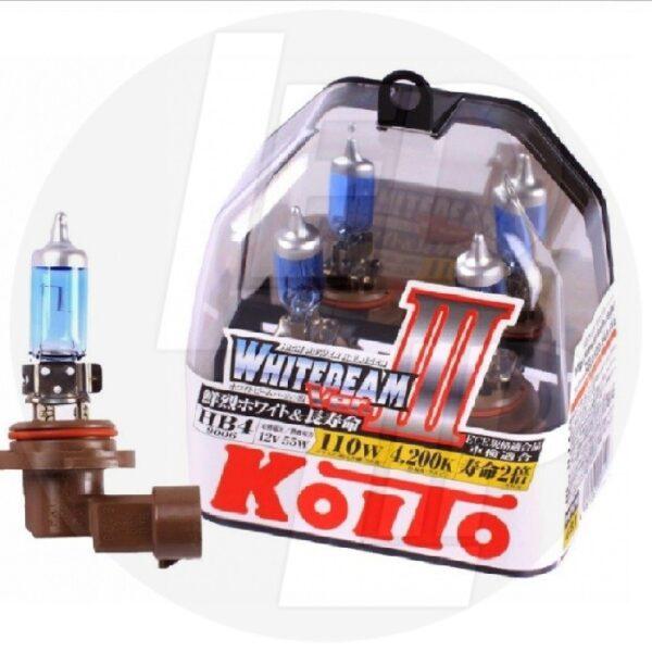 Галогеновая лампа Koito Whitebeam HB4 4200K 12V 55W (110W) P0757W