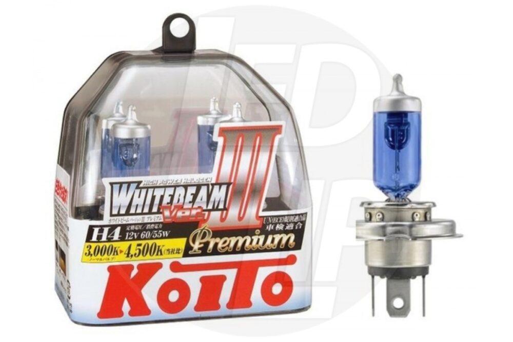 Галогеновая лампа Koito Whitebeam Premium H4 P0744W