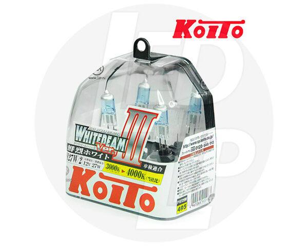 Галогеновая лампа Koito Whitebeam h272 (загнут) P0729W