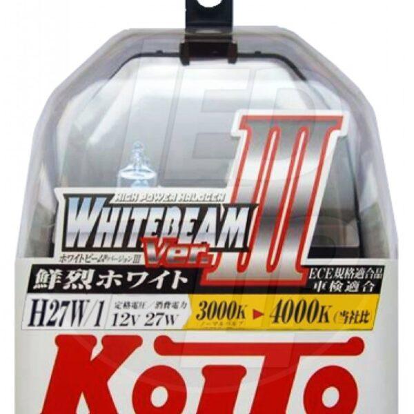 Галогеновая лампа Koito Whitebeam H27/1 (прямой) P0728W