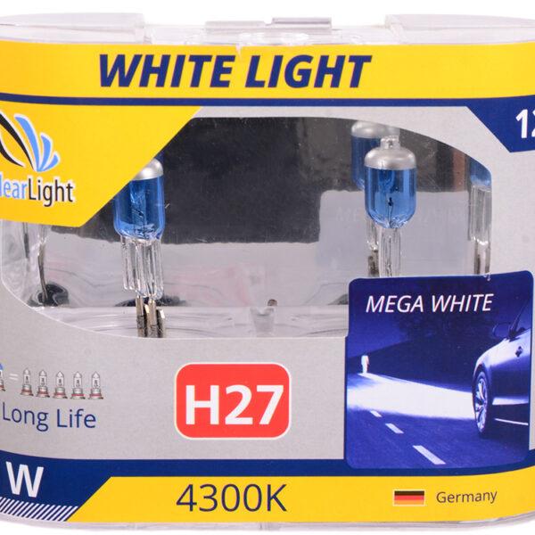 Галогеновая лампа ClearLight WHITELIGHT H27 12V-55W