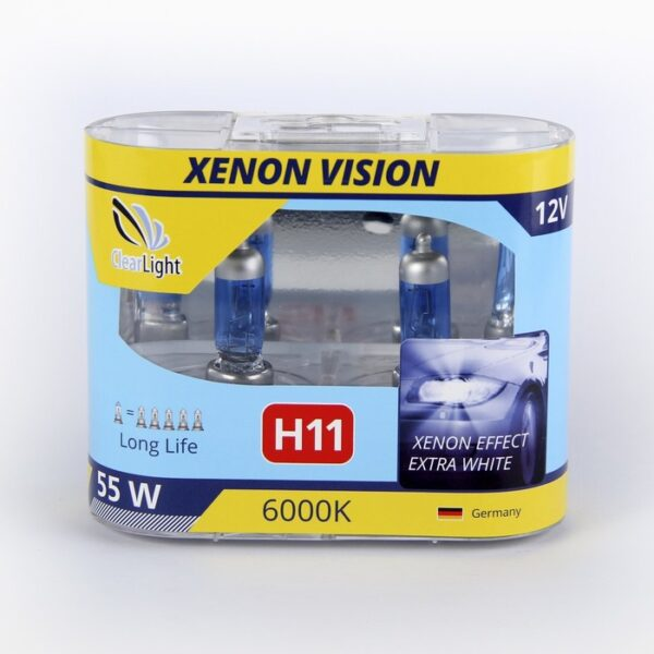 Галогеновая лампа ClearLight XENONVISION H11 12V-55W