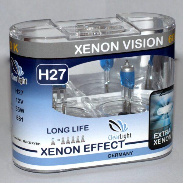 Галогеновая лампа ClearLight XENONVISION  H27 12V-55W