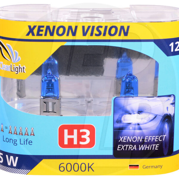 Галогеновая лампа ClearLight XENONVISION H3 12V-55W