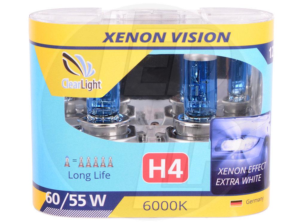 Галогеновая лампа ClearLight XENONVISION H4 12V-55W