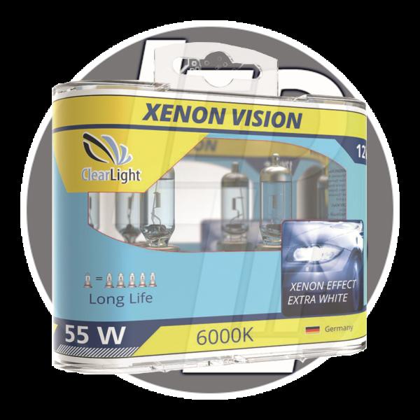 Галогеновая лампа ClearLight XENONVISION H7 12V-55W