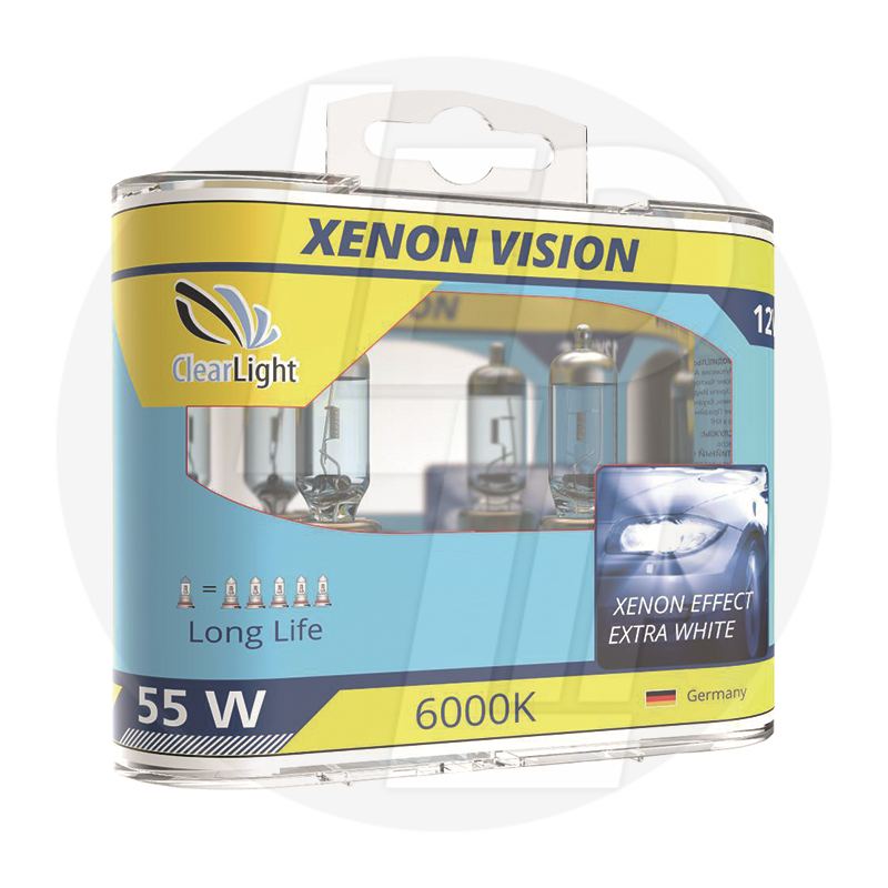 Галогеновая лампа ClearLight XENONVISION H7 12V-55W