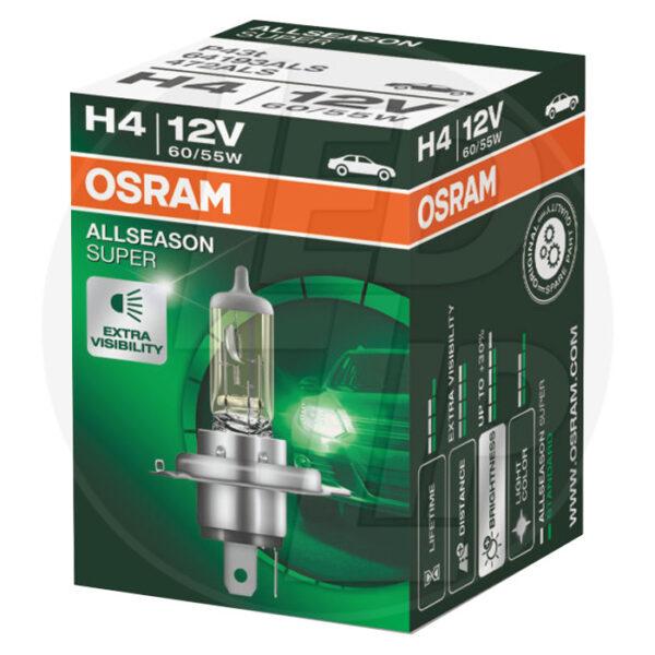 Галогеновая лампа osram H4 64193 ALS