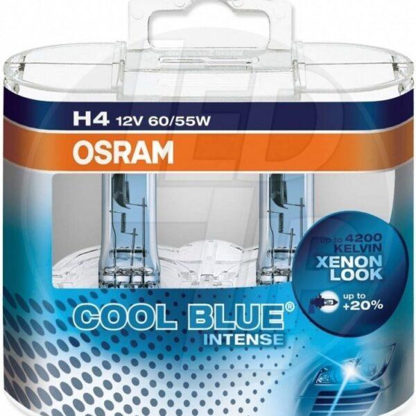 Галогеновая лампа osram H4 64193 CBI