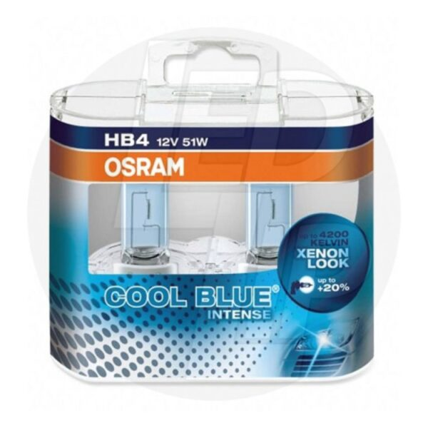 Галогеновая лампа osram HB4 9006 CBI DUOBOX