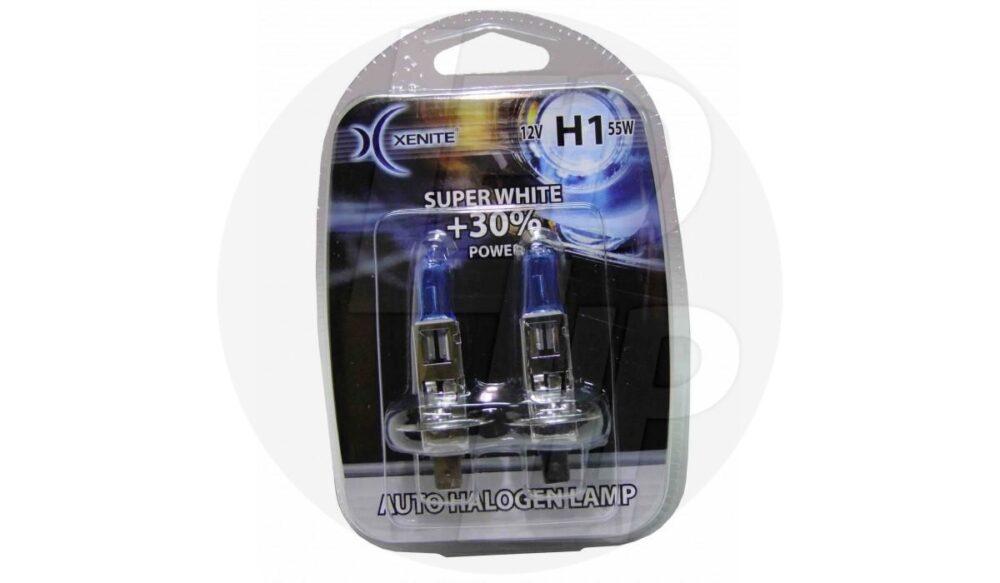 Галогеновая лампа XENITE H1 Super White 12v 55w