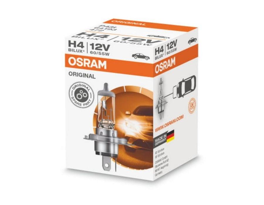Галогеновая лампа osram H4 Original - 64193 (карт. упак.)