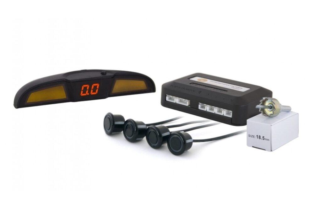 Парктроник SVS  LED-088-4 Black 20.5mm