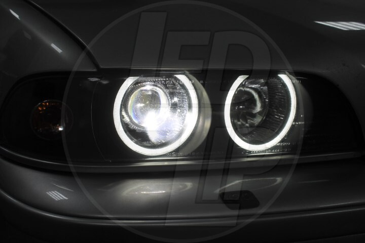 Ангельские Глазки BMW 5 E39 рестайлинг и дорестайлинг
