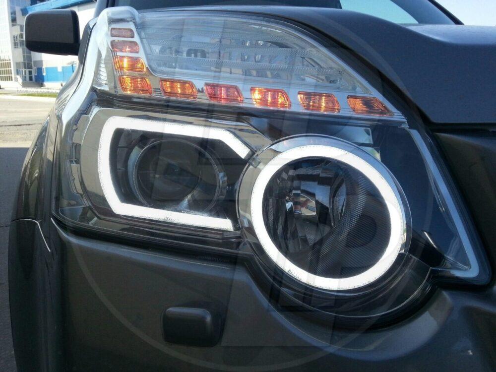 Ангельские глазки Nissan X-Trail Т31